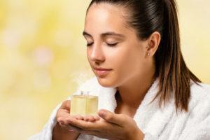 inhale essential oils