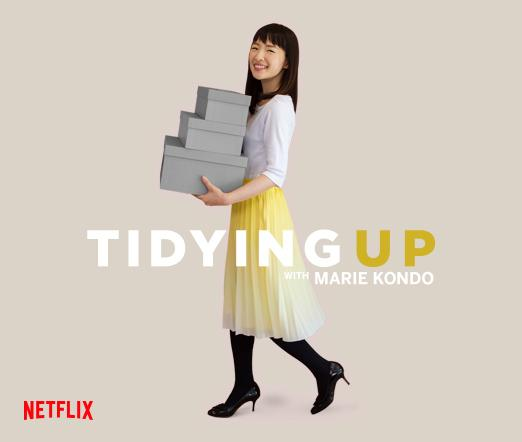 Marie Kondo and her new Netflix Show Tidying Up