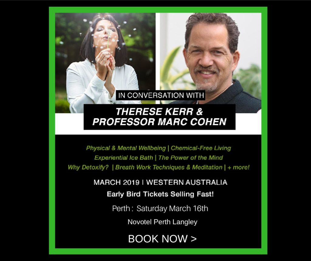 Wellness event with Therese Kerr and Professor Marc Cohen