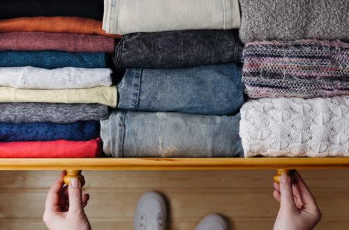 neatly organized drawer